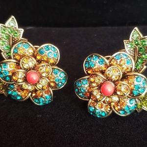 Heidi Daus Floral earrings
